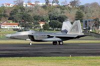 USAF 3rd Wing Lockheed F-22A 06-4127/AK at Lajes (2013)