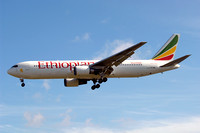 Ethiopian Airlines Boeing 767-300 ET-AQG at London Heathrow (2012)