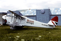 British Airways De Havilland Dragon Rapide G-AKOE (1979)