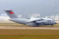 Chinese AF Xian Y-20 783 at the Zhuhai Airshow (2014)