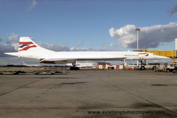 The Aviation Photo Company: Latest Additions &emdash; British Airways BAC Concorde G-BOAC (1997)