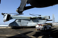 USMC VMM-365 Bell-Boeing MV-22B Osprey 166731 on board USS New York in Marseille Harbour (2015)