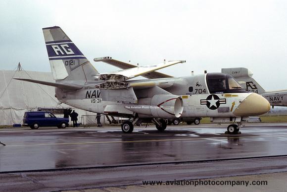 The Aviation Photo Company: S-3 Viking (Lockheed) &emdash; USN VS-31 Lockheed S-3A Viking 160121/AG704 (1979)