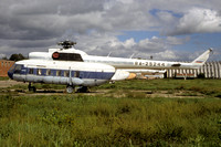 Mil Mi-8P RA-25244 stored at Myatchikovo (1999)