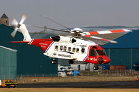 HM Coast Guard Sikorsky S-92A G-MCGA at Prestwick (2013)