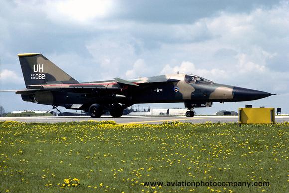 The Aviation Photo Company: F-111/EF-111 Aardvark/Raven (General Dynamics) &emdash; USAF 20 TFW 79 TFS GD F-111E 68-0082/UH (1979)