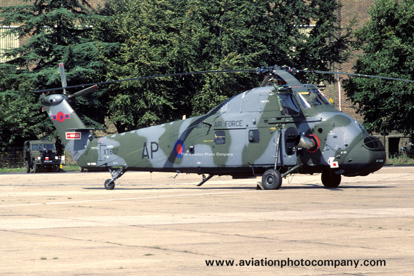 The Aviation Photo Company: Latest Additions &emdash; RAF 72 Squadron Westland Wessex HC.2 XT607/AP (1980)