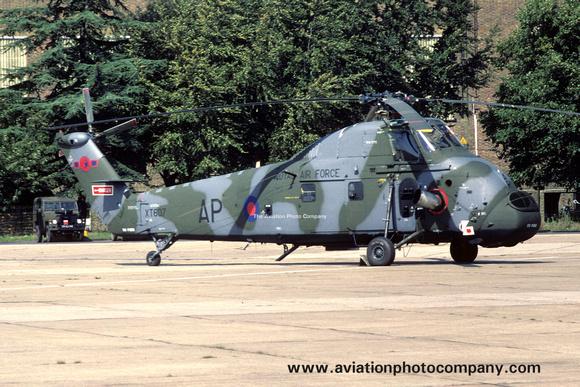 The Aviation Photo Company: Latest Additions &emdash; RAF 72 Squadron Westland Wessex HC.2 XT607/AP (1980)