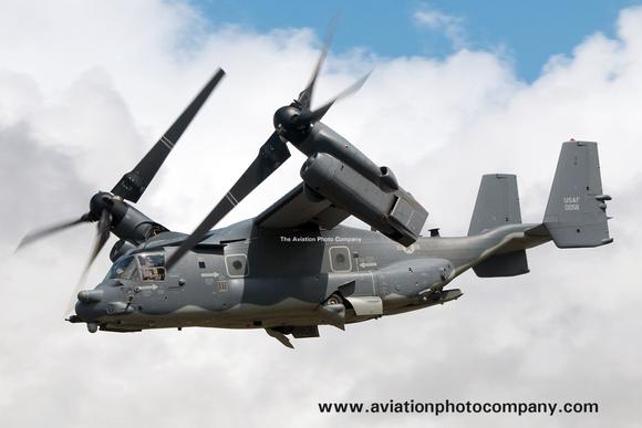The Aviation Photo Company: Latest Additions &emdash; USAF 352 SOW 7 SOS Bell-Boeing CV-22B Osprey 11-0058 at RIAT Fairford (2015)