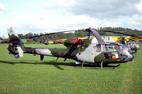 AAC 656 Squadron Westland Gazelle AH.1 ZA775 at Middle Wallop (1992)