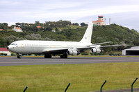 Israeli Air Force Boeing KC-707 275 at Lajes (2015)