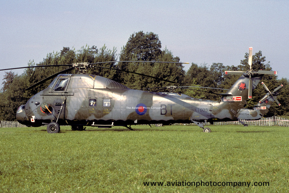 The Aviation Photo Company: Latest Additions &emdash; RAF 18 Squadron Westland Wessex HC.2 XT603/BT (1979)