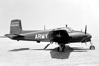 US Army Beech U-8F 58-1354