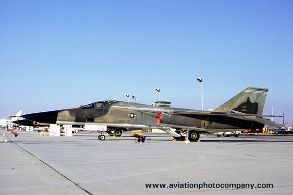 The Aviation Photo Company: F-111/EF-111 Aardvark/Raven (General Dynamics) &emdash; USAF AFFTC FB-111A 67-0159 at Edwards AFB (1979)