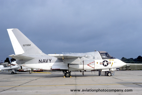The Aviation Photo Company: S-3 Viking (Lockheed) &emdash; US Navy NATC Lockheed S-3A Viking 157992 (1974)