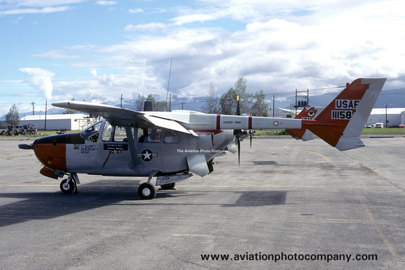 The Aviation Photo Company: O-2 Skymaster (Cessna) &emdash; USAF 5010 CSG 25 TASS Cessna O-2A 68-11158 (1978)