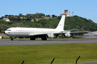 Israeli Air Force 120 Squadron Boeing KC-707 272 at Lajes (2015)