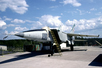 Soviet Air Force Mikoyan MiG-25 25 displayed at Tampere, FInland (2005)