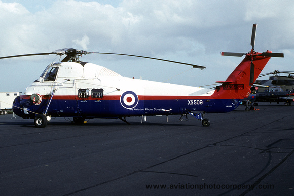 The Aviation Photo Company: Latest Additions &emdash; RAF A&AEE Westland Wessex HU.5 XS509 (1992)