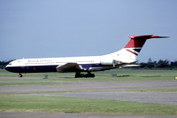 British Airways Vickers VC-10 G-ASGJ stored at Abingdon (1981)