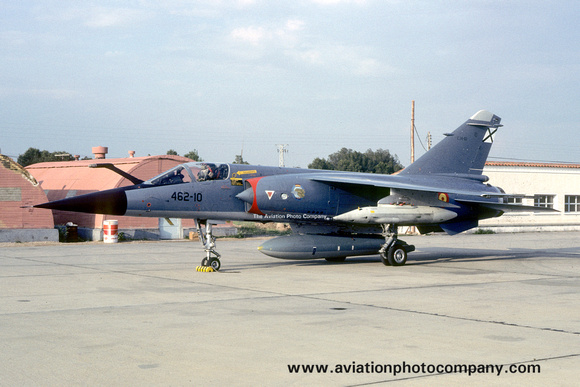 The Aviation Photo Company: Latest Additions &emdash; Spanish Air Force Esc 462 Dassault Mirage F.1E C.14-61/462-10 (1985)
