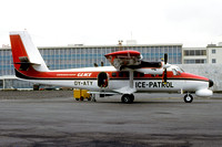 Greenlandair Charter GLACE Ice Patrol DHC-6 Twin Otter OY-ATY (1980)