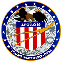 Apolloo 16 Mission Patch