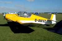 Jodel D.112 G-AWVZ at Sywell (2013)