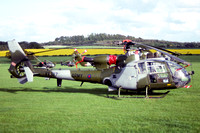 AAC 1 Regiment Westland Gazelle AH.1 XX387 at Middle Wallop (1992)