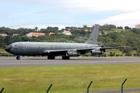 Israeli Air Force 120 Squadron Boeing KC-707 295 at Lajes (2015)