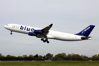 Air Blue Airbus A340-300 AP-EDF at Manchester (2013)