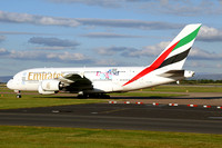 Emirates AIrbus A380-800 A6-EEM at Manchester (2015)