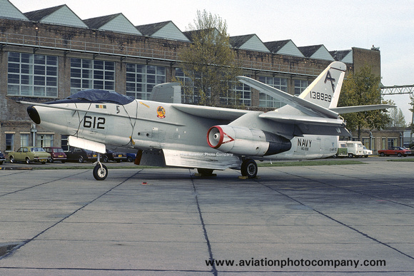 The Aviation Photo Company: A-3 Skywarrior (Douglas) &emdash; US Navy VAQ-208 Douglas EKA-3B Skywarrior 138929/AF-612 at Mildenhall (1976)