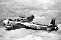 RAF Short Stirling III BF509 Air to Air