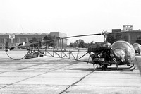AAC Westland Sioux AH.1 XT554 at RAF Wattisham (08.09.1968)