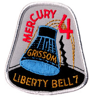 Mercury 4 Mission Patch - Gus Grissom 'Liberty Bell'