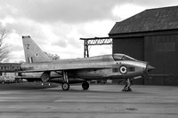RAF 23 Squadron English Electric Lightning T.5 XS417/Z (1968)