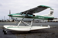 Buffalo Airways Cessna 185 float plane C-FUPT (1999)