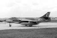 RAF 20 Squadron Hawker Hunter FGA.9 XJ695/K with kangaroo zap (1966)