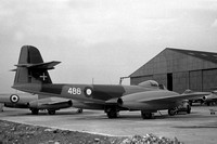 Danish Air Force Gloster Meteor F.8 44-488 (1951)