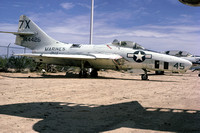 US Marine Corps VMJ-4 Grumman RF-9J Cougar 144426 at the Pima County Museum (1974)