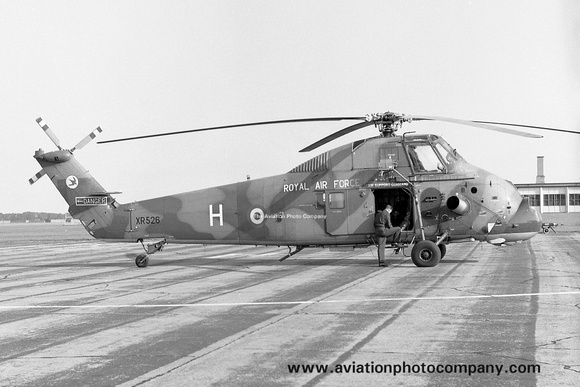 The Aviation Photo Company: Latest Additions &emdash; RAF 72 Squadron Westland Wessex HC.2 XR526/H at RAF Wattisham (1967)