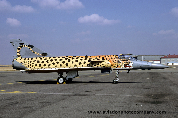 The Aviation Photo Company: Latest Additions &emdash; South African AF 2 Squadron Atlas Cheetah C 342 (2002)
