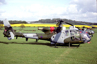 AAC 7 Regiment Westland Gazelle AH.1 XX394 at Middle Wallop (1992)