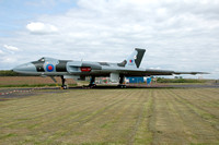 RAF Avro Vulcan B.2 XJ823 at the Solway Aviation Museum (2014)