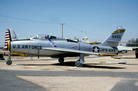 USAF Republic F-84F Thunderstreak 51-9433 displayed at the Castle AFB Museum (1991)