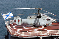 Russian Navy Kamov Ka-27PS 32 red in Valetta Harbour (2013)