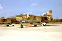 Soviet Air Force Mikoyan MiG-23S 23 red (1980)