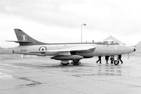 RAE Hawker Hunter F.6 XF375