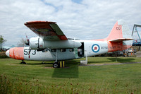 Royal Navy Hunting Sea Prince T.1 WP314 at the Solway Museum (2014)